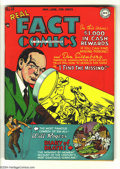 "Golden Age (1938-1955):Non-Fiction, Real Fact Comics #14 (DC, 1948) Condition VF. Gerber ""uncommon"".Will Rogers story. Overstreet 2004 VF 8.0 value = $86...."
