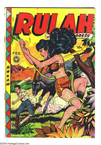 Rulah Jungle Goddess #23 (Fox Features Syndicate, 1949) Condition VG+. Matt Baker art. Overstreet 2004 VG 4.0 value = $1...