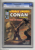 Bronze Age (1970-1979):Miscellaneous, Savage Sword of Conan #5 (Marvel, 1975) CGC NM+ 9.6 Off-white towhite pages. Boris Vallejo cover. John Buscema and Jeff Jon...