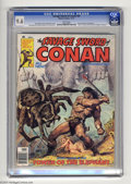 Magazines:Miscellaneous, Savage Sword of Conan #24 (Marvel, 1977) CGC NM+ 9.6 White pages.John Buscema and Alfredo Alcala art. Earl Norem cover. Thi...