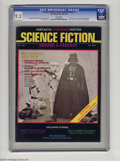 "Magazines:Science-Fiction, Science Fiction, Horror and Fantasy #1 (D.W. Enterprises, 1977) CGCNM- 9.2 White pages. ""Star Wars"" issue with photo front ..."
