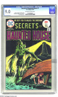 Bronze Age (1970-1979):Horror, Secrets of Haunted House #1 (DC, 1975) CGC VF/NM 9.0 Off-white towhite pages. Luis Dominguez cover. Steve Skeates, Mike Pel...