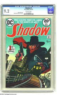 The Shadow #1 (DC, 1973) CGC NM- 9.2 Off-white pages. Michael William Kaluta cover and art. Denny O'Neil story. Overstre...