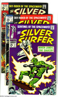 Silver Age (1956-1969):Superhero, The Silver Surfer Group #2, 7, 9 and 10 (Marvel, 1968-69) Condition: Average FN. Group consists of four issues. John Buscema... (Total: 4 Comic Books Item)