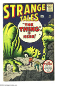 Silver Age (1956-1969):Horror, Strange Tales #79 (Marvel, 1960) Condition VG. Dr. Strange prototype character in this issue. Jack Kirby cover. Kirby, Steve...