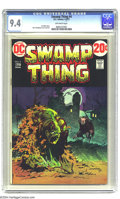 Bronze Age (1970-1979):Horror, Swamp Thing #4 (DC, 1973) CGC NM 9.4 Off-white pages. BernieWrightson cover and art. Len Wein story. Overstreet 2004 NM- 9....
