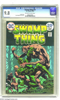 Bronze Age (1970-1979):Horror, Swamp Thing #10 (DC, 1974) CGC NM/MT 9.8 Off-white to white pages.Last Bernie Wrightson issue. Wrightson cover and art. Len...