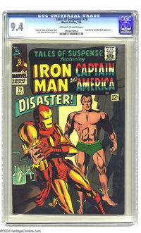 Tales of Suspense #79 (Marvel, 1966) CGC NM 9.4 Off-white to white pages. Featuring Iron Man (vs. Sub-Mariner on Gene Co...