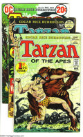 Bronze Age (1970-1979):Miscellaneous, Tarzan Group (DC, 1972-76) Condition: VG/FN. This group consists of15 comics: #207 (origin of Tarzan) (John Carter begins),... (Total:15 Comic Books Item)