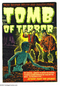 Golden Age (1938-1955):Horror, Tomb of Terror #6 (Harvey, 1952) Condition: VF. Lee Elias cover.Overstreet 2004 VF 8.0 value = $144....