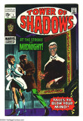 Silver Age (1956-1969):Horror, Tower of Shadows Group (Marvel, 1969) Condition: Average VF. Thisgroup consists of two comics: #1 and 2. Artists include: J...(Total: 2 Comic Books Item)
