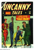 Golden Age (1938-1955):Horror, Uncanny Tales #22 (Atlas, 1944) Condition: FN. Joe Maneely cover.Doug Wildey art. Overstreet 2004 FN 6.0 value = $75....