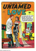 Golden Age (1938-1955):Romance, Untamed Love #1 Canadian Edition (Bell Features, 1950) Condition:FN. Corresponds to #1 of the U.S. edition. Canadian editio...