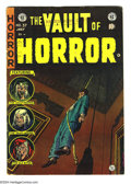 Golden Age (1938-1955):Horror, Vault of Horror #37 (EC, 1954) Condition: VG/FN. First appearanceof Drusilla. Johnny Craig cover. Craig, Jack Davis, and Al...