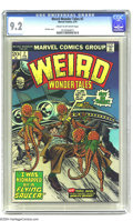 Bronze Age (1970-1979):Science Fiction, Weird Wonder Tales #2 (Marvel, 1974) CGC NM- 9.2 Cream to off-whitepages. Gil Kane cover. Doug Wildey, Paul Reinman, Bill W...