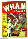 Golden Age (1938-1955):Superhero, Wham Comics #2 (Centaur, 1940) Condition: GD/VG. Last issue. PaulGustavson cover and art. Origins of Blue Fire and Solarman...