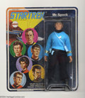 Memorabilia:Science Fiction, Star Trek Mr. Spock Action Figure (Mego, 1974). This is Mego item number 51200/2, an 8-inch-high Mr. Spock. Poseable action ...