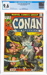 Conan the Barbarian #36 (Marvel, 1974) CGC NM+ 9.6 White pages