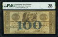 Obsoletes By State:Louisiana, New Orleans, LA- Bank of Louisiana $100 May 22, 1862 G24b PMG Very Fine 25.. ...
