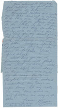 """Movie/TV Memorabilia:Documents, Bruce Lee Handwritten Letter Signed """"Bruce"""" and """"B. Lee"""" (On Address Panel) Written to Bob Baker at the End of Filming T..."""