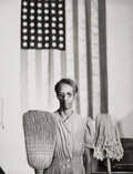 Photographs, Gordon Parks (American, 1912-2006). Group of 5 Photographs of Black Americans in Wartime, 1942-1943. Gelatin silver prin... (Total: 5 )