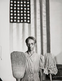 Gordon Parks (American, 1912-2006) Group of 5 Photographs of Black Americans in Wartime, 1942-1943 G