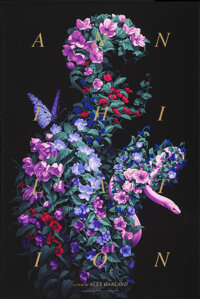 """Annihilation, AP by Rory Kurtz (Mondo, 2018). Mint. Hand Signed Artists Proof of a Limited Edition Screen Print (36""""..."""