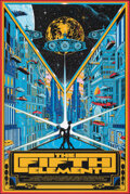 """Movie Posters:Science Fiction, The Fifth Element, 144/160 by Kilian Eng (Private Commission, 2013). Mint. Hand Numbered Limited Edition Screen Print (36"""" X..."""