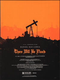 """There Will Be Blood, 75/375 by Olly Moss (Mondo, 2010). Mint. Hand Numbered Limited Edition Screen Print (24"""" X 18&..."""