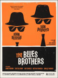 """Movie Posters:Comedy, The Blues Brothers, 4/75 by Olly Moss (Mondo, 2010). Mint. Hand Numbered Limited Edition Screen Print (24"""" X 18""""; 61 X 45.75..."""