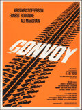 """Movie Posters:Action, Convoy, 248/250 by Olly Moss (Mondo, 2010). Mint. Hand Numbered Limited Edition Screen Print (24"""" X 18""""; 61 X 45.75 cm). . ..."""