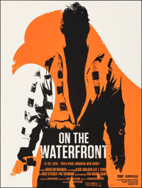 """On the Waterfront, 65/250 by Olly Moss (Mondo, 2010). Mint. Hand Numbered Limited Edition Screen Print (24"""" X 18&qu..."""