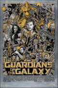 Movie Posters:Science Fiction, Guardians of the Galaxy, 1/01 by Tyler Stout (Mondo, 2014). Mint. Hand Numbered Variant Limited Edition Screen Print on Meta...