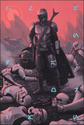 """Movie Posters:Science Fiction, The Mandalorian, AP by Rory Kurtz (Mondo, 2021). Mint. Hand Signed Artists Proof of a Limited Edition Screen Print (36"""" X 24..."""