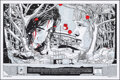 Movie Posters:Foreign, Let the Right One In, AP 10/25 by Tyler Stout (Mondo, 2010). Mint. Hand Signed and Numbered Artists Proof of a Limited Editi...