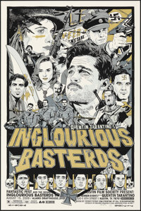 Inglourious Basterds, 5/86 by Tyler Stout (Mondo, 2009). Mint. Hand Signed and Numbered Variant Limited Edition Screen P...
