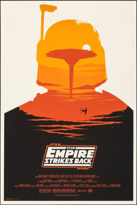 The Empire Strikes Back, 83/400 by Olly Moss (Mondo, 2010). Very Fine+. Hand Numbered Limited Edition Screen Print (36&q...