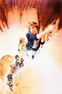 The Goonies, AP 32/50 by Drew Struzan (Bottleneck, 2020). Rolled, Near Mint/Mint. Signed and Hand Numbered Artist Proof...