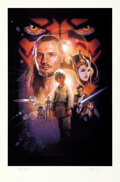 Movie Posters:Science Fiction, Star Wars: Episode I - The Phantom Menace by Drew Struzan (Lucasfilm, 1999). Near Mint. Signed and Hand Numbered Limited Edi...