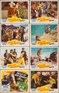 """Movie Posters:Western, Bells of San Angelo (Republic, 1947). Very Fine+. Lobby Card Set of 8 (11"""" X 14""""). Western.. ... (Total: 8 Items)"""