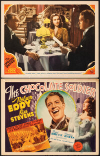 """The Chocolate Soldier (MGM, 1941). Very Fine-. Title Lobby Card & Lobby Card (11"""" X 14""""). Musical. ... (To..."""