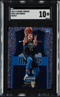 Basketball Cards:Singles (1980-Now), 2018-19 Panini Threads Luka Doncic (Dazzle) #181 SGC Gem Mint 10....