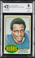 Football Cards:Singles (1970-Now), 1976 Topps Walter Payton #148 BCCG Near Mint 9....