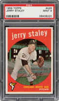 Baseball Cards:Singles (1950-1959), 1959 Topps Jerry Staley #426 PSA Mint 9 - Two Higher. ...
