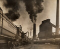 Photographs, William Rittase (American, 1894-1968). DuPont Trains; Railroad Crossing (two works), circa 1930s. Gelatin silver prints,... (Total: 2 )
