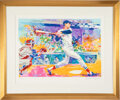"""Baseball Collectibles:Others, 1991 """"Ted Williams - The Splendid Splinter"""" LeRoy Neiman Serigraph - Signed by Neiman...."""
