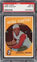 Baseball Cards:Singles (1950-1959), 1959 Topps Mike Cueller #518 PSA Mint 9 - Only Two Higher....