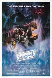 """The Empire Strikes Back (20th Century Fox, 1980). Rolled, Very Fine/Near Mint. One Sheet (27"""" X 41"""") Style A S..."""