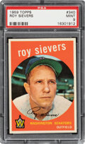 Baseball Cards:Singles (1950-1959), 1959 Topps Roy Sievers #340 PSA Mint 9 - Only One Higher. ...
