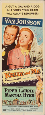 """Kelly and Me & Other Lot (Universal International, 1957). Folded, Very Fine-. Inserts (2) (14"""" X 36""""). Mus..."""